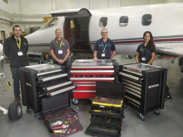 Stanley, Black and Decker presented City of Bristol College with five toolkits