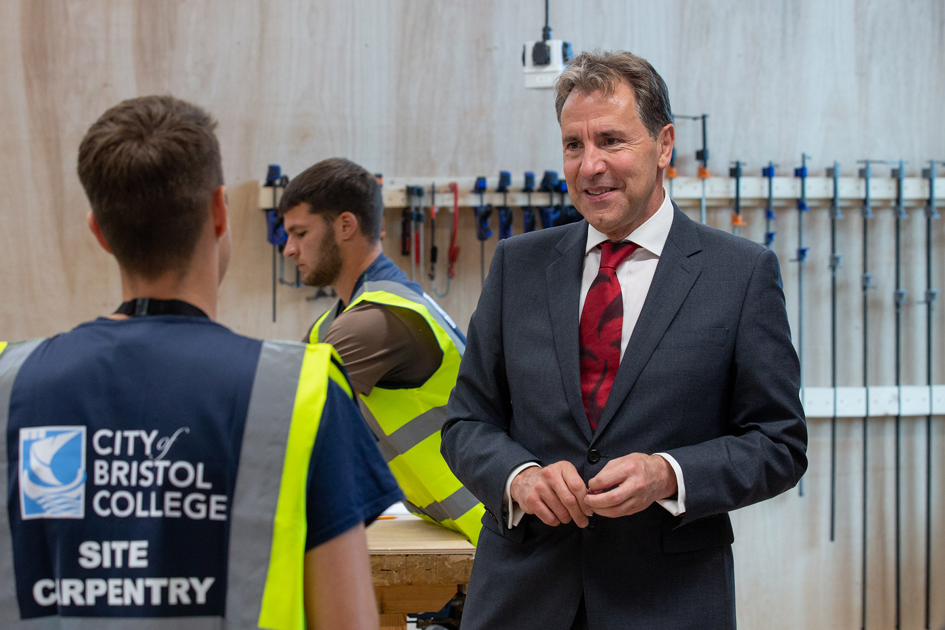 Grand opening of the Advanced Construction Skills Centre