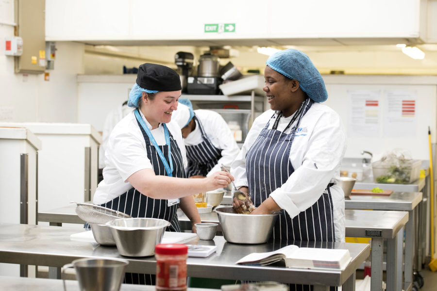 Catering Students