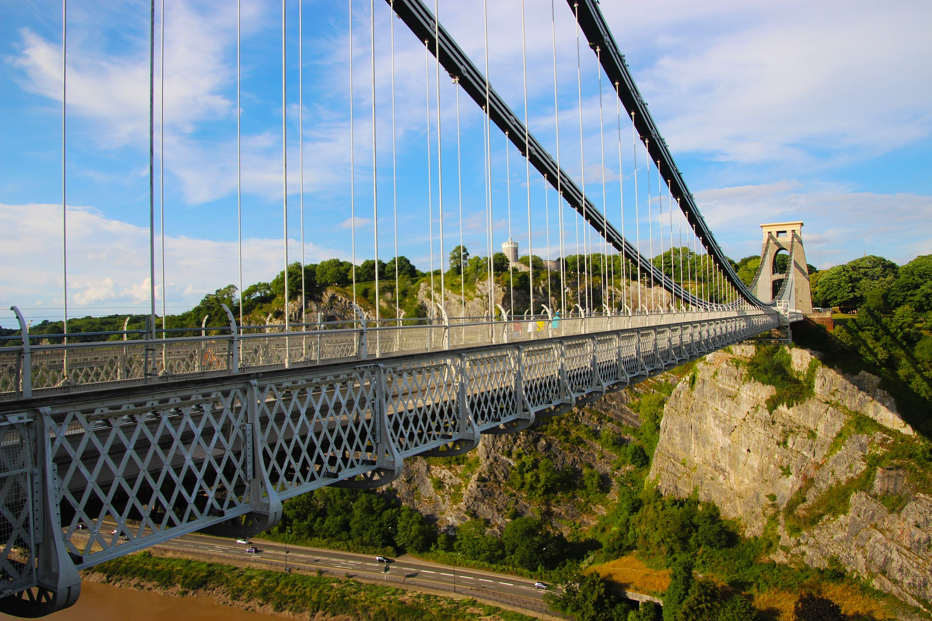 Clifton Suspension Bridge in Daytime