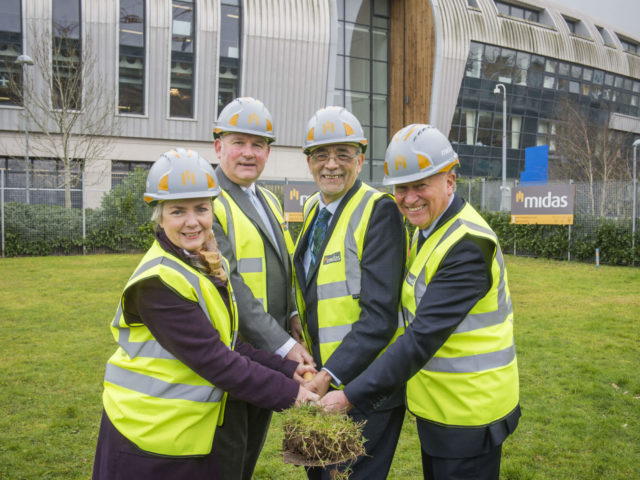 Turf Cutting for Advanced Construction Centre