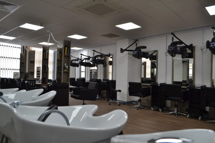 Hair and beauty salon at College Green Centre