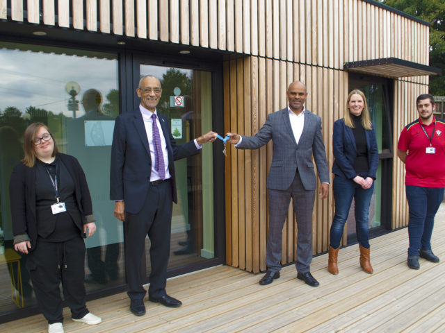 Eco apartment opening Brislington Centre