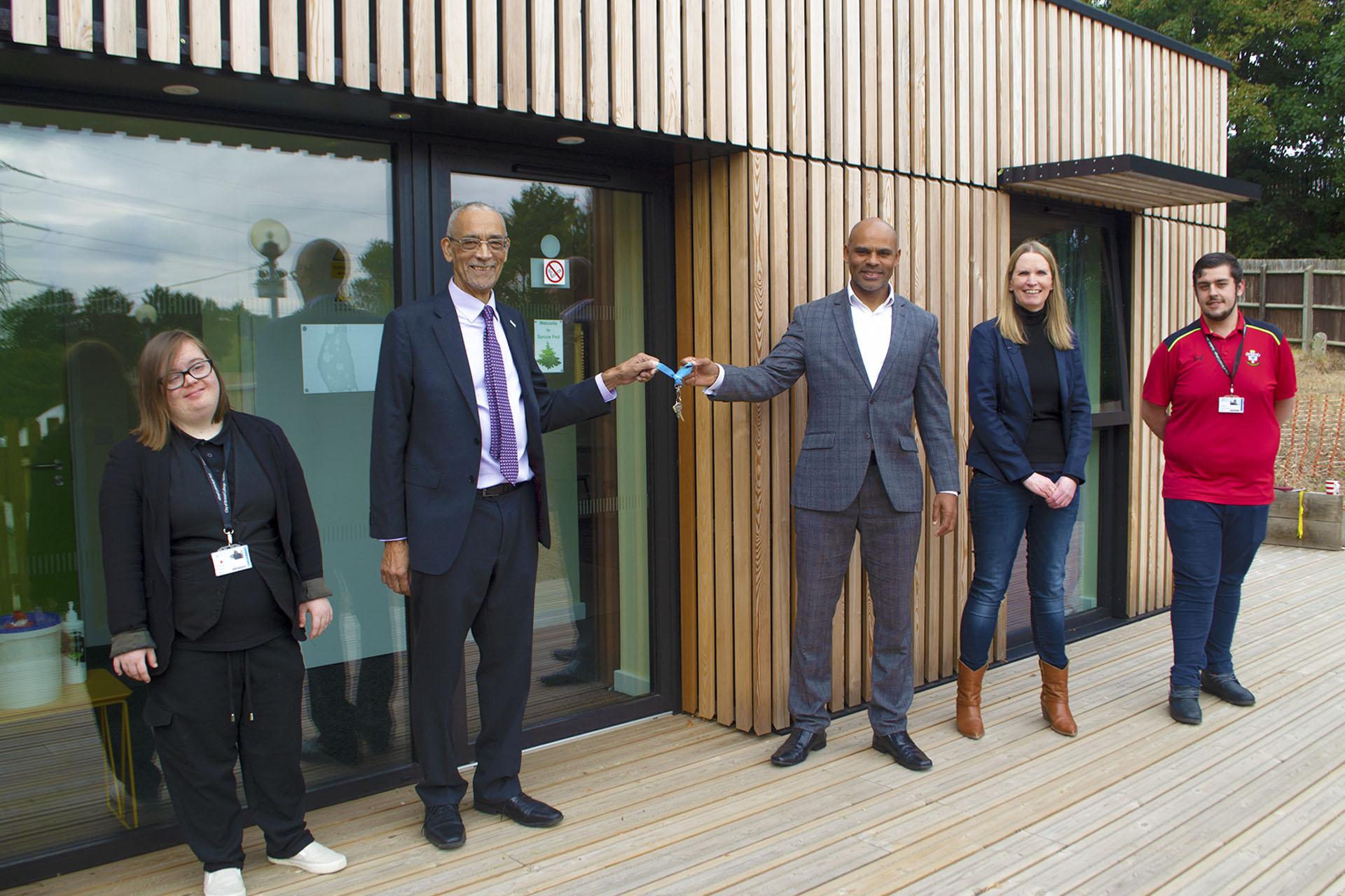 Eco apartment opening Brislington Centre