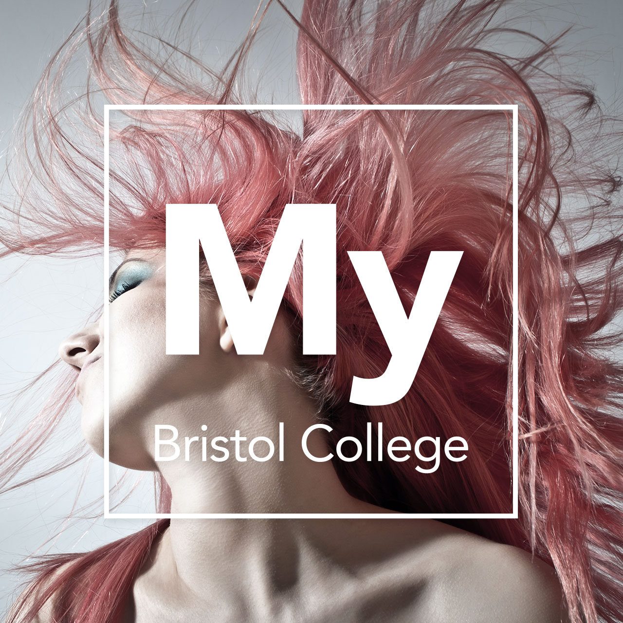 Hair and Beauty with My Bristol College overlay