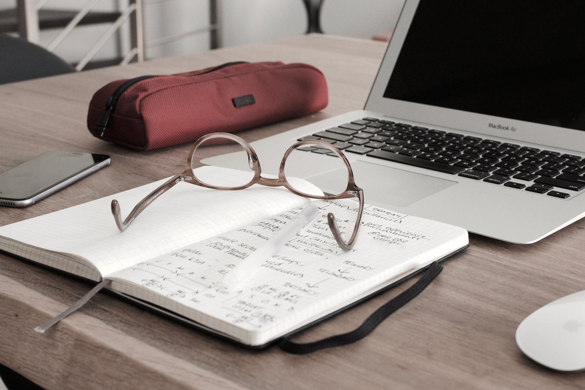 desk for business homework