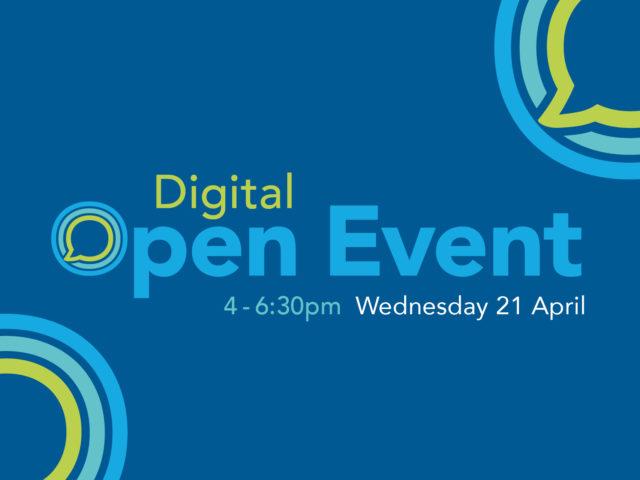 Digital Open event