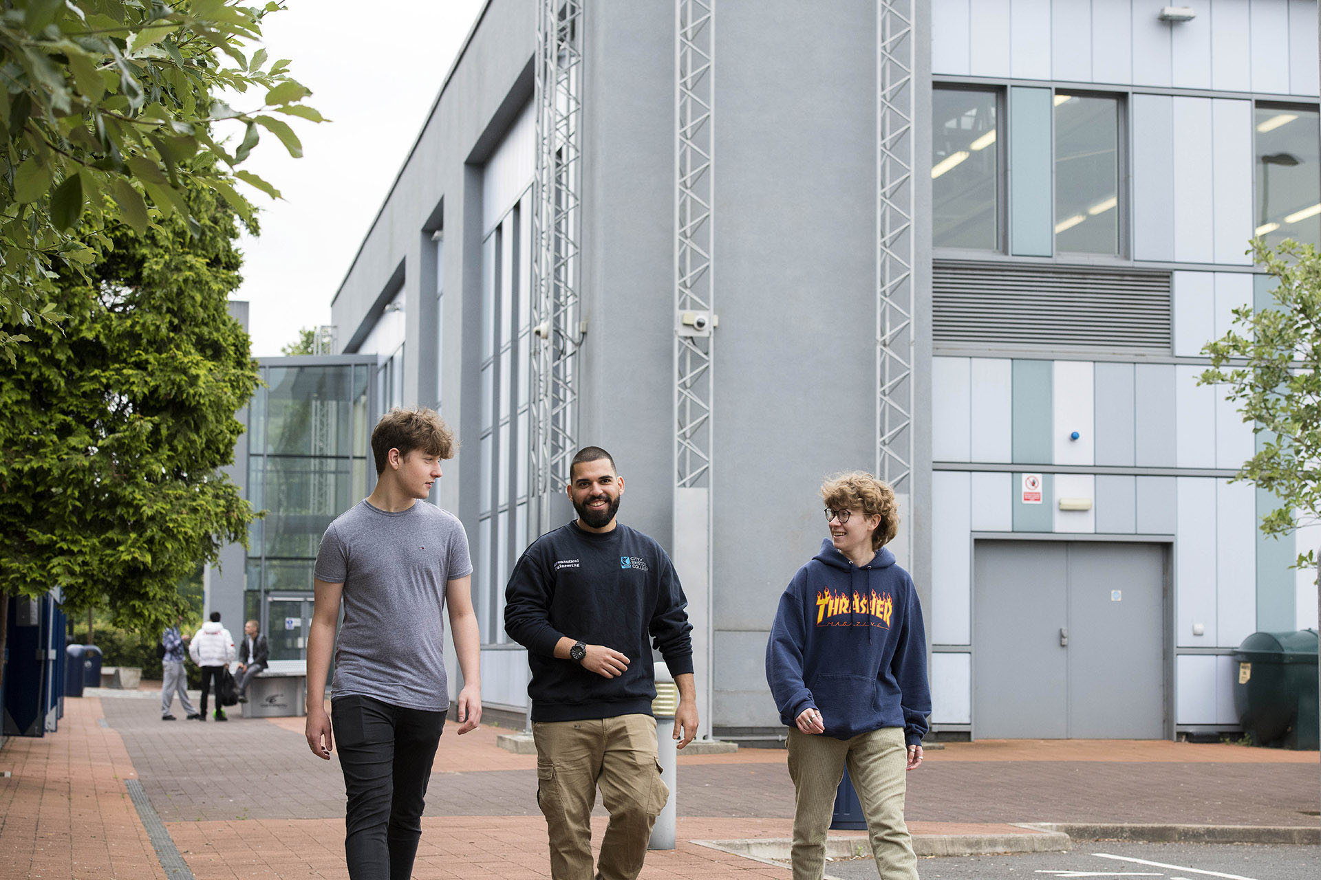 Motor Vehicle Technology Centre Students