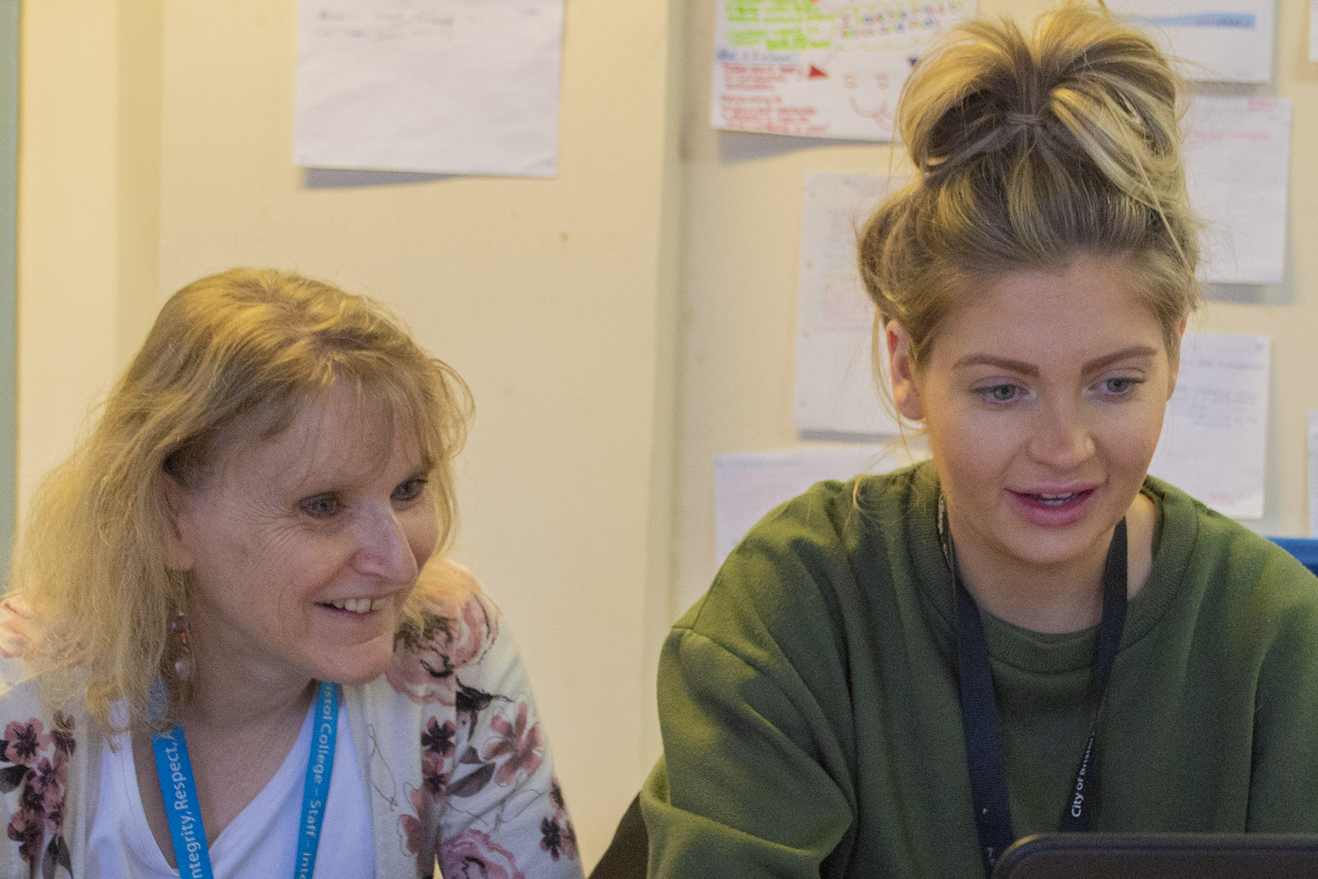 Learning Support - Student and tutor