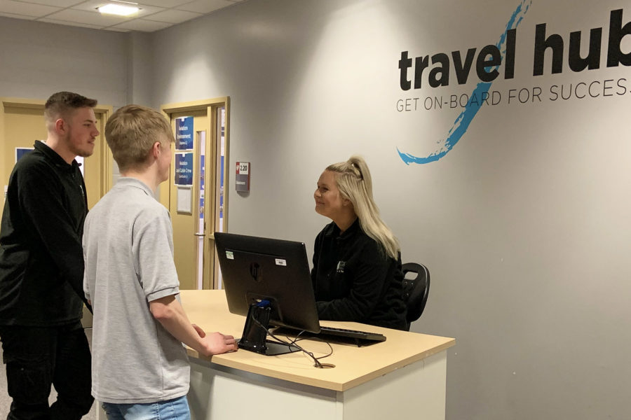 Travel and tourism students