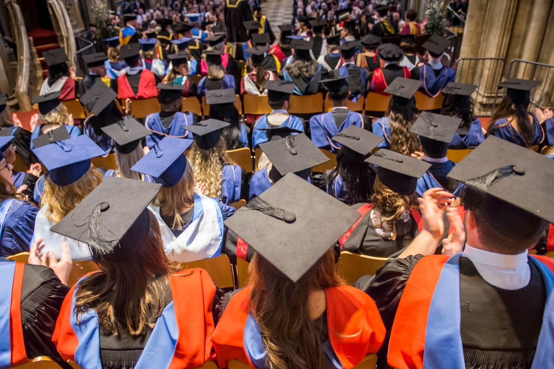 Students' graduation ceremony