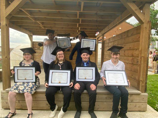 Brislington Centre students at their graduation