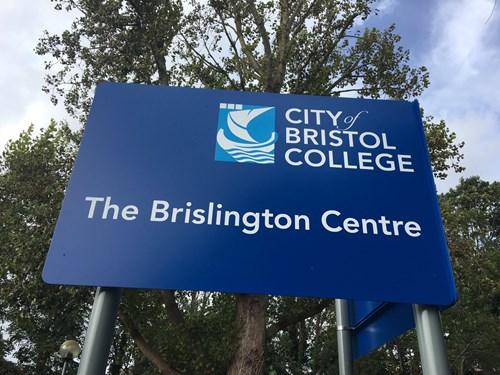 brislington centre sign