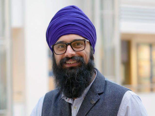 Portrait shot of Palvinder Singh