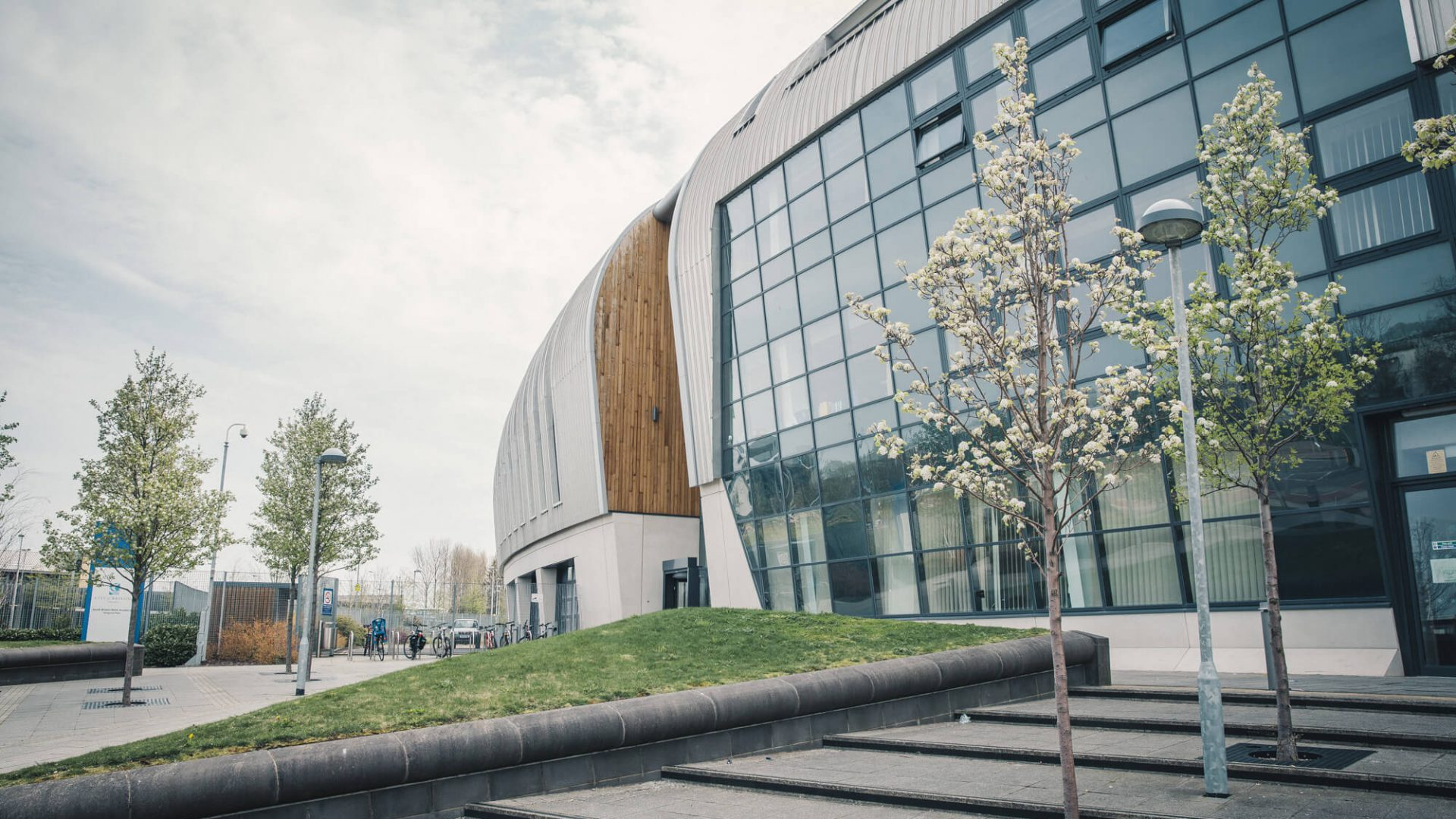 Outside shot of the main building at South Bristol Skills Academy